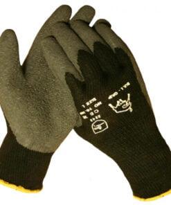 Werkhandschoenendiscounter BULL – GRIP THERMO zwarte latex