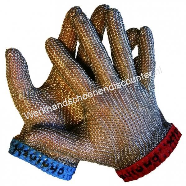 Werkhandschoen Maliënkolder roestvrijstaal