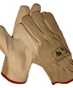 werkhandschoenendiscounter Chauffeurshandschoen rund/boxleder met splitrug. EN 388 Beschikbaar in maten 10 Type: BOXLEDER